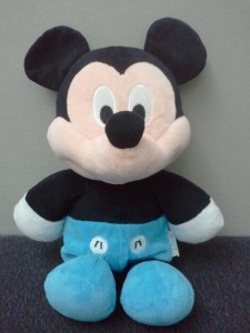 Mickey Mouse in blue pants
