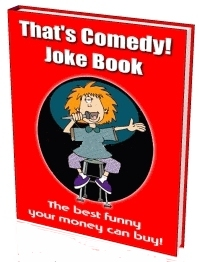 Pix of That's Comedy! Joke Book